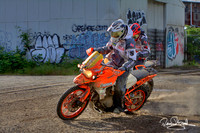 Icon Motosports Portland to Dakar Production Photos